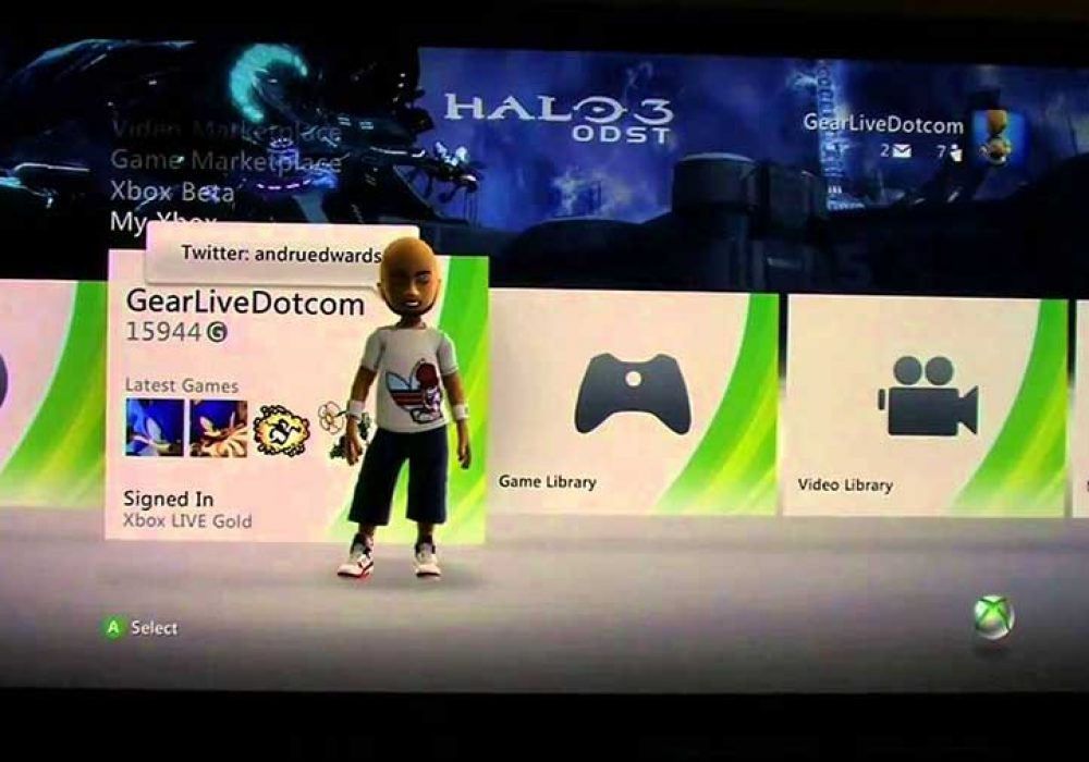 Xbox Live dashboard release notes
